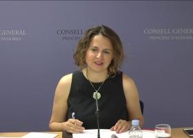 Roda de premsa de presentació de la modificació de la llei del fons de reserva de jubilació